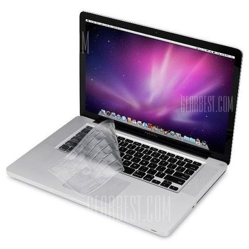 Transparent Design Keyboard Cover Protector for US Version MacBook 13 / 15 / 17