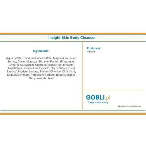 body cleanser hipoalergiczny żel nawilżający do mycia ciała 100ml marki Insight