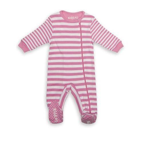 pajacyk sachet pink stripe 12-18m marki Juddlies