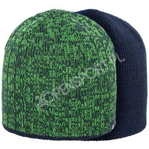 Męska dwustronna czapka c4z16 cam006 zielona s/m marki 4f