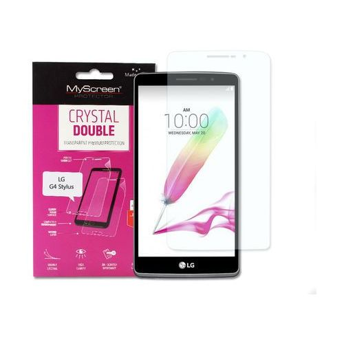 LG G4 Stylus - folia ochronna MyScreen Protector Crystal Double, FOLG225MSCD000000