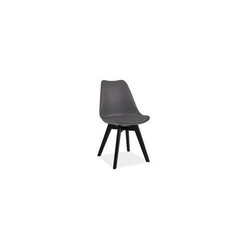 Krzesło Kris - czarny, KRISDBC