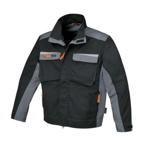 kurtka robocza beta 7829 wykonana z płótna t/c 280g/m2 (czarno-szara) – rozmiar l marki Beta