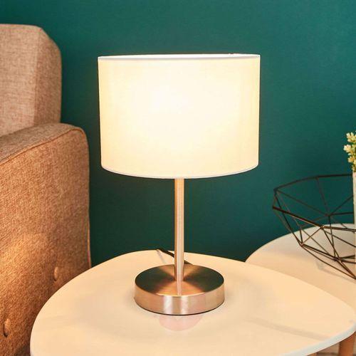 Trio 4611 lampa stołowa Nikiel matowy, 1-punktowy - Nowoczesny - Obszar wewnętrzny - HOTEL - Czas dostawy: od 2-4 dni roboczych (4017807246810)
