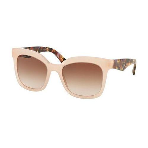 Okulary słoneczne pr24qsf triangle asian fit uew0a6 marki Prada
