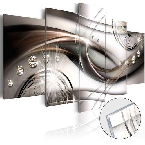 Artgeist Obraz na szkle akrylowym - brązowy blask [glass]