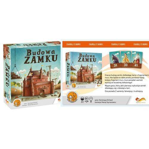 """Foxgames Gra planszowa. """"budowa zamku"""" + zakładka do książki gratis"""