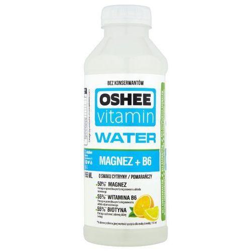 OSHEE 555ml Vitamin Water Magnez + B6 Napój niegazowany o smaku cytryny-pomarańczy - produkt z kategorii- Napoje, wody, soki