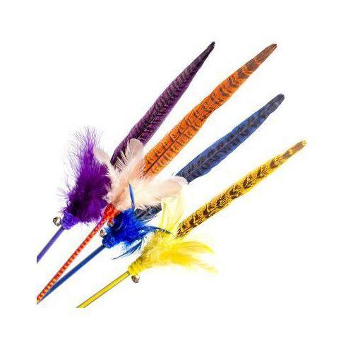Piórko na patyku Pheasant kolor, TS0048