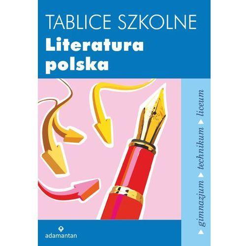 Tablice szkolne Literatura polska, Adamantan