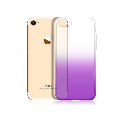 Etui ombre case apple iphone 7 / 8 fioletowe - fioletowy marki Alogy