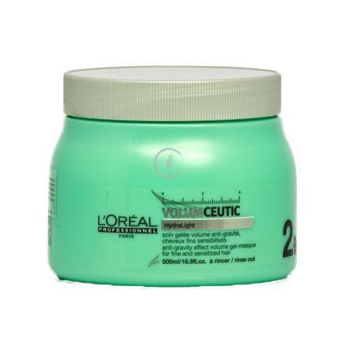 volumceutic masque żelowa maska nadająca objętość włosom cienkim i delikatnym (500 ml) marki L'oreal