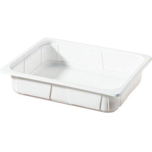 Pojemnik plastikowy 1/2 GN | biały | 325x265x60 mm | 100szt.