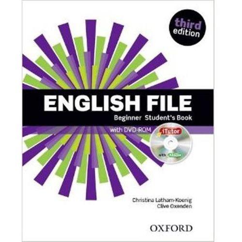 English File: Beginner: Student's Book & iTutor (9780194501835)