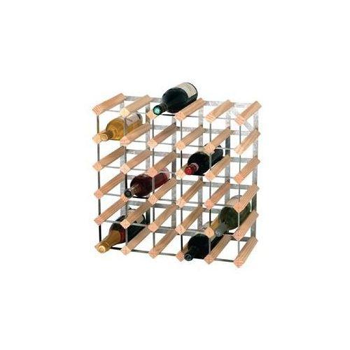 Stojak na wino | 30 butelek | 612x228x(h)412mm marki Xxlselect