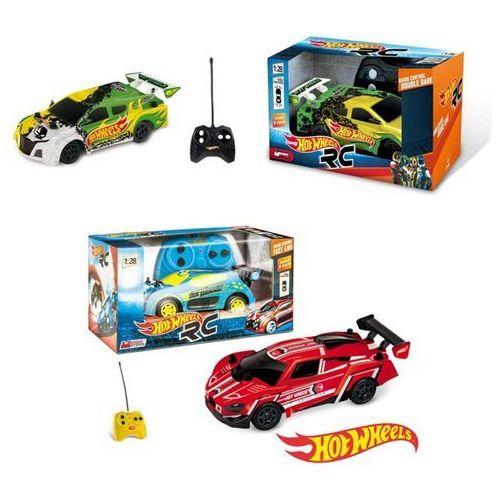 Hot Wheels samochód zdalnie sterowany 1:28 niebieski - Mondo Games (8001011632534)