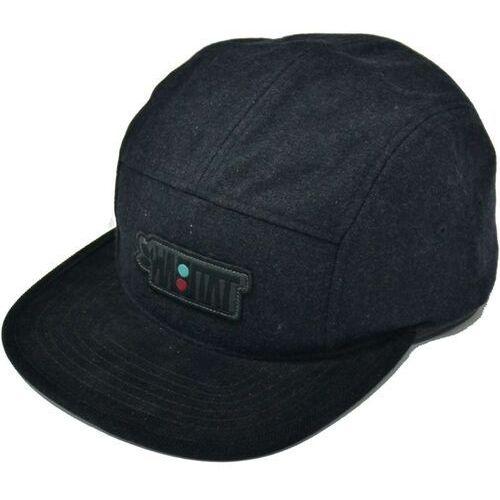 czapka z daszkiem HABITAT - Artisan Apex Black Cerna (CERNA) rozmiar: OS, kolor czarny