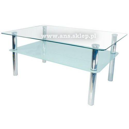 Szkłomal PROSTOKĄT II - Ława szklana, 110x70 cm
