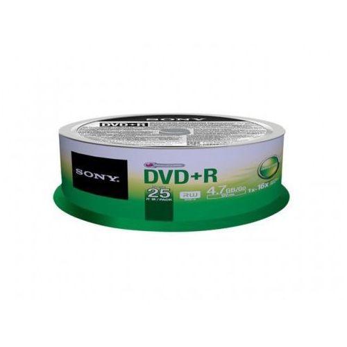 dvd+r 16x 4.7gb (25 cake) marki Sony