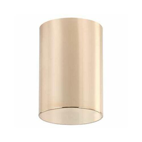 Natynkowa lampa sufitowa kika gold metalowa oprawa tuba downlight złota marki Orlicki design