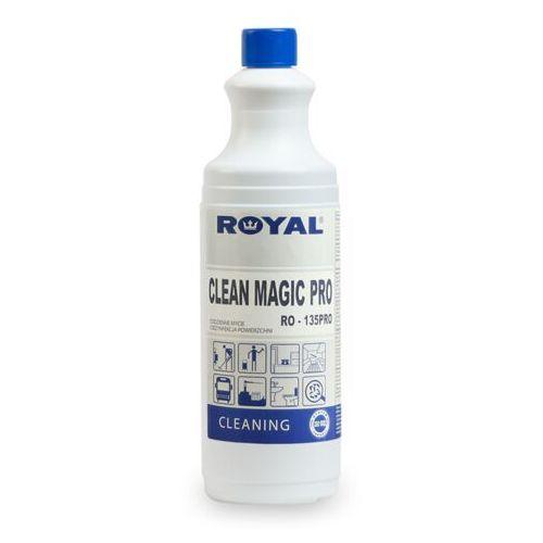 Royal Koncentrat do dezynfekcji powierzchni, podłóg, ścian clean magic pro 1 l koncentrat do dezynfekcji powierzchni,koncentrat do dezynfekcji w gastronomi, skoncentrowany płyn do dezynfekcji podłóg