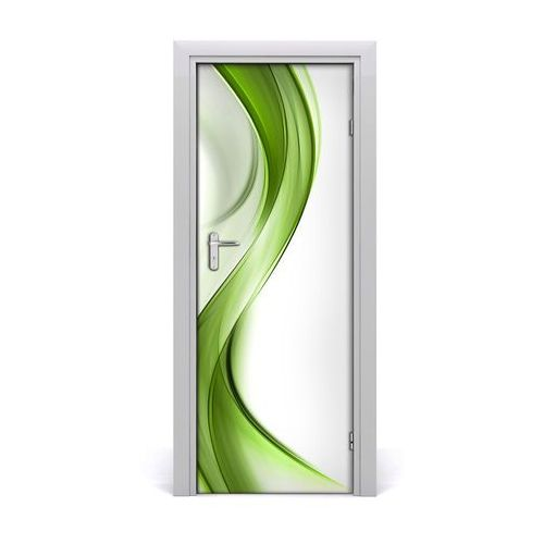 Naklejka samoprzylepna na drzwi Abstrakcyjna fala