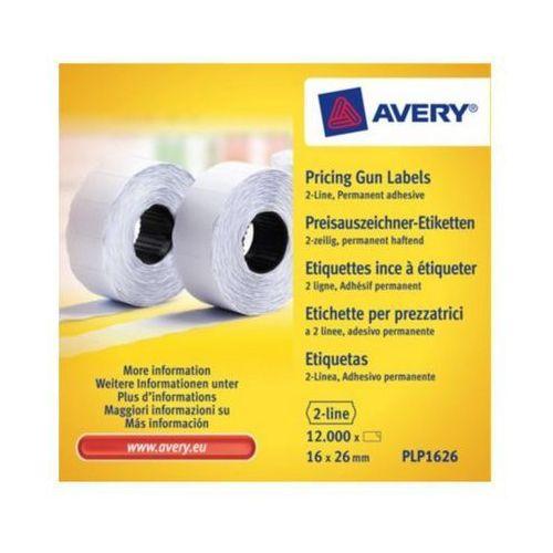 Avery zweckform Etykiety cenowe  plp1626, 16x26mm białe