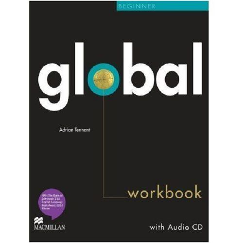 Global Beginner Workbk + CD Without Key, Macmillan