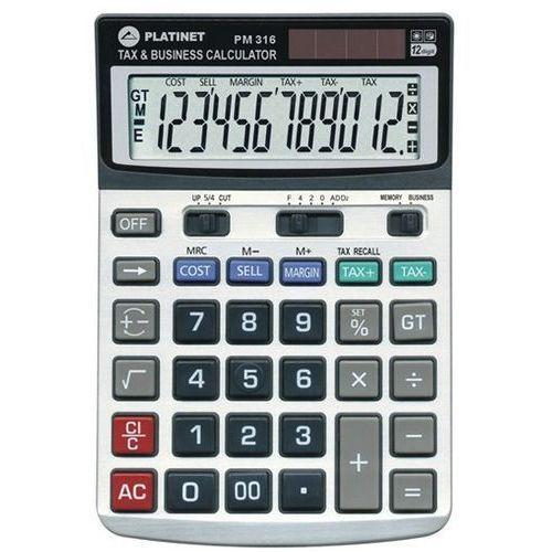 Platinet Kalkulator pm316 12d tax mar 40470 (5907595404709)
