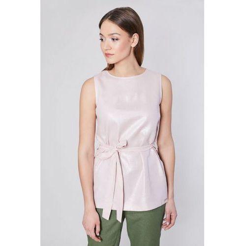 Tunika model pucon 10651 pink marki Click fashion