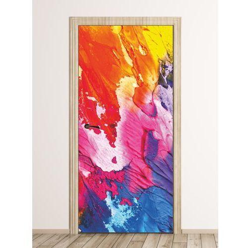 Fototapeta na drzwi kolorowa abstrakcja fp 6148 marki Wally - piękno dekoracji