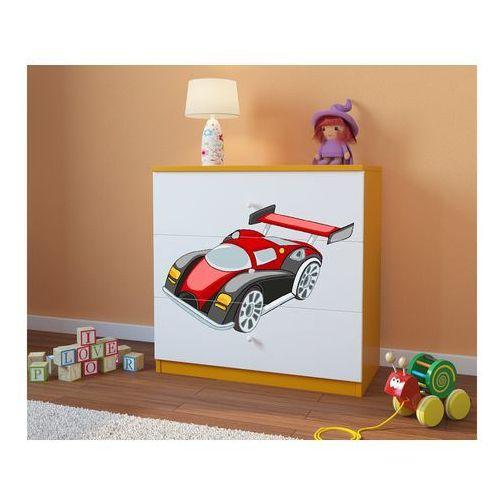 Komoda dziecięca babydreams auto wyścigowe kolory negocjuj cenę marki Kocot-meble