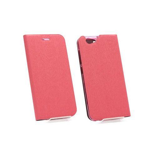 Htc one (a9s) - etui na telefon flex book - różowy marki Etuo flex book