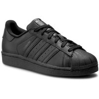 Adidas Buty - superstar foundation j b25724 cblack