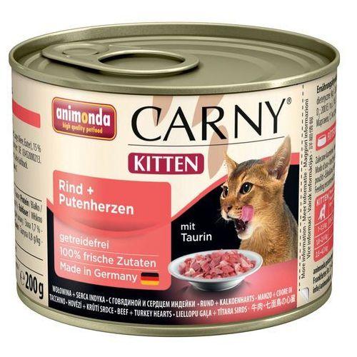 ANIMONDA Carny kitten cielęcina kurczak 0.2 kg - DARMOWA WYSYŁKA OD 99 ZŁ (4017721834926)
