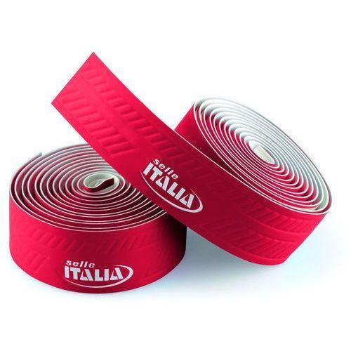 Selle italia Owijka na kierownicę controllo gr.2,5mm żelowa czerwona