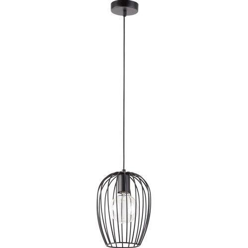 Sigma Lampa wisząca bora 31457 metalowa oprawa druciana klatka zwis hygge czarny (5902846812128)