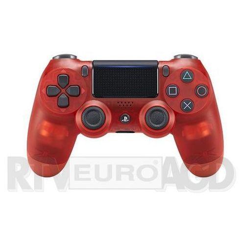 Sony dualshock 4 v2 (red crystal) - produkt w magazynie - szybka wysyłka!