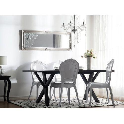 Zestaw do jadalni 2 krzesła białe VERMONT, kolor biały