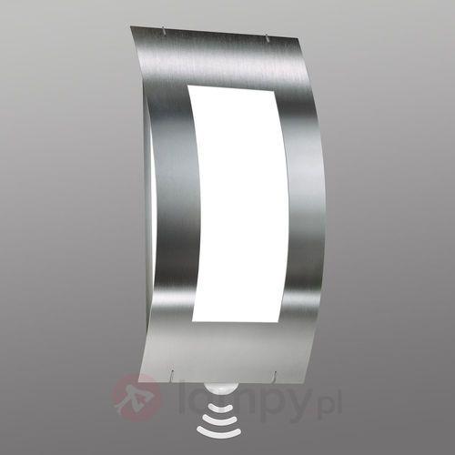 Lampa ścienna zewnętrzna quadrat z czujnikiem marki Cmd creativ metalldesign gmbh