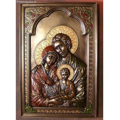 Ikona rodzina święta prezent na chrzest marki Veronese