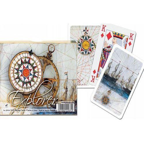 KARTY DO GRY PIATNIK, 2 TALIE, ODKRYWCA (9001890229749)