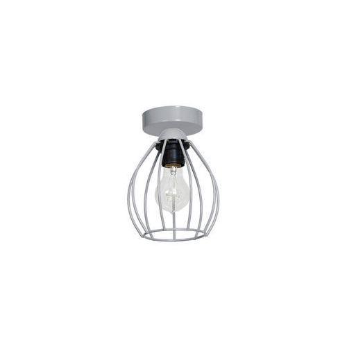Lampa sufitowa STAR 1xE27/60W/230V szara (5907565995831)