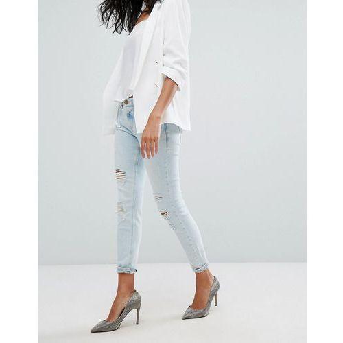 River Island Alannah Skinny Jeans - Blue