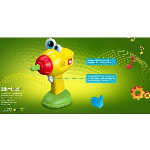 Silly sam, zabawka interaktywna wiertareczka marki Dumel