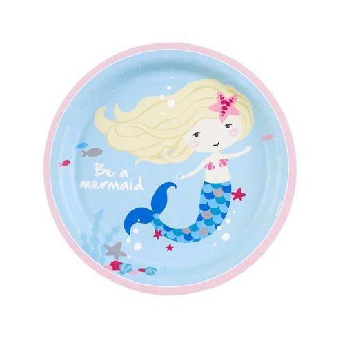 Amscan Talerze be a mermaid 23cm op. 8szt (0013051805234)