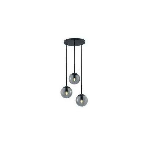 Trio balini 308590342 lampa wisząca zwis 3x28w e14 antracytowa/dymiona (4017807468625)