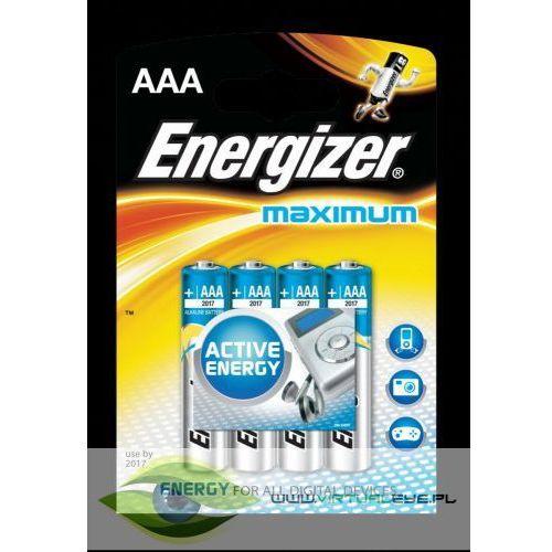 Energizer Bateria MAXIMUM AAA LR03 /4szt., AZENGUB3005 (484755)