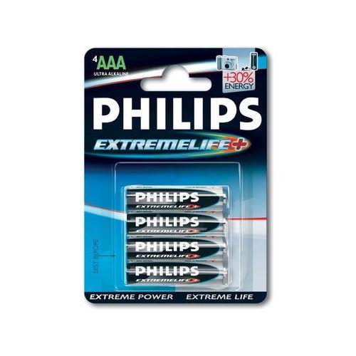 Philips ExtremeLife Bateria LR03-P4/12B (8710895774468)