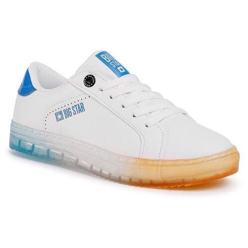 Sneakersy BIG STAR - FF274922 White/Blue/Orange, w 6 rozmiarach